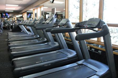 Treadmills at El Gancho in Santa Fe